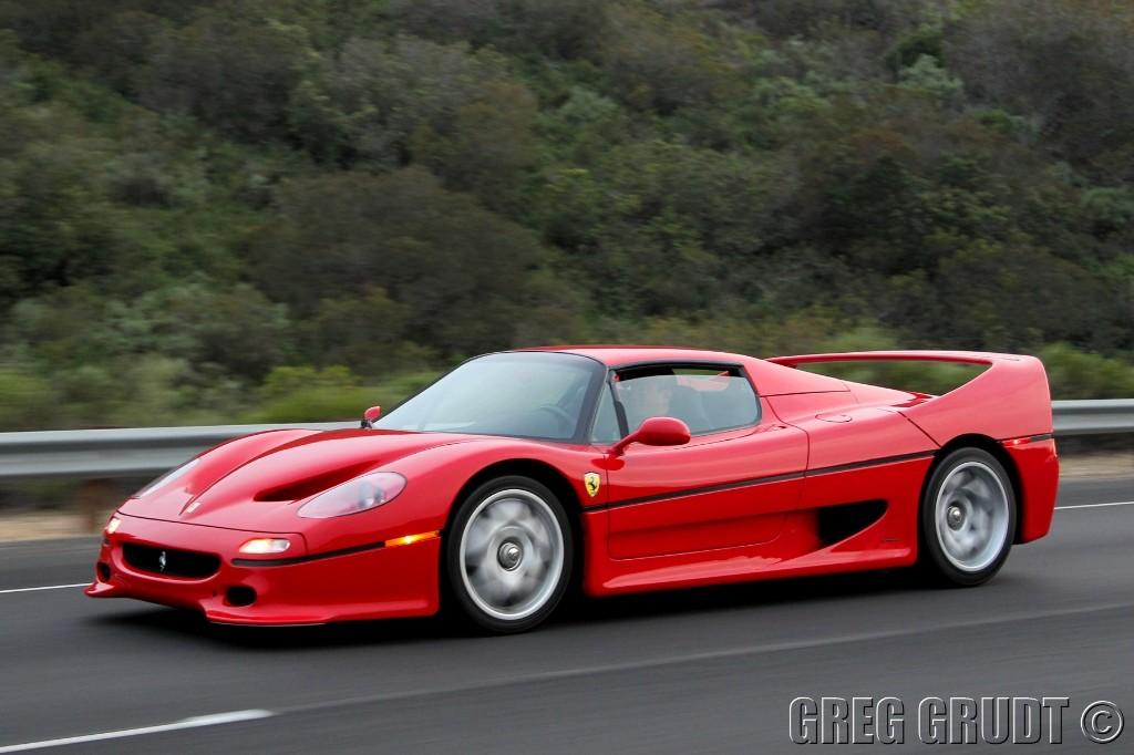 Chiptuning Ferrari F50 510 pk