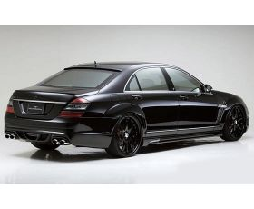 Chiptuning Mercedes W221 S600 Turbo 517 pk