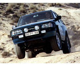 Chiptuning Opel Frontera 2.4i 125 pk